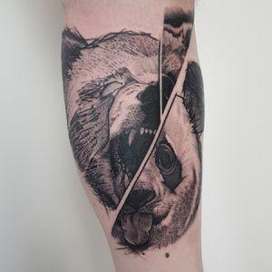Grizzly/Panda Bear #uktta #tattoolife #tattoooftheday #inkaddicts #superbtattoos #crownofthorns #silverbackink #silverbackinkinstablack #hustlebutterdeluxe #spektraedgex #fkirons #ezcartridges #ezcartridgecouk #sullenartcollective #chester #tattoo #tattoos #tattooed #tattooing #tattooartist #tattoostudio #wheretheytatt #antbatetattoos