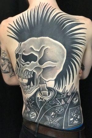 Punk's not Dead! #tattoo #punkrock