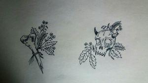 ➡Witchcraft sketchs⬅ #tete #sketch #witchcraft #witchtattoo #skulltattoo #skull #demon #demontattoo #apprenticetattoo #tattoo #apprentice