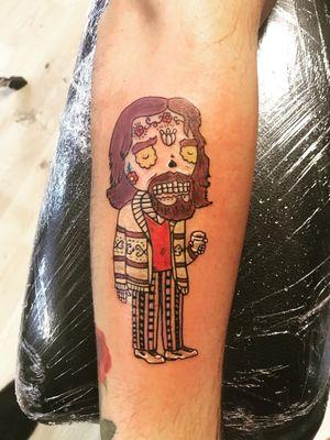 Hippie tatto
