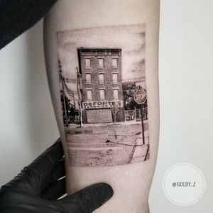 Soon to be a 100 years old sandwich shop in Brooklyn 👌 #sandwich #sandwichsop #tribute #taot #tattoo #tattoodesign #food #foodporn #photograph #ttblackink #radtattoos #instaart #instaink #finelinetattoo #newyorker #outstanding #awesome #blacktattooart #brooklyn #buildingtattoo #phototattoo #tattoosnyc #tattooart #tattooartist #tattoogirl#nyc #singleneedletattoo #singleneedle
