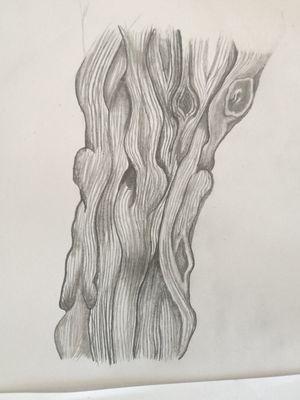 Dessin bois pour mon bras ☺️ #bois #nature #dessin #wood #woodcarving #woods