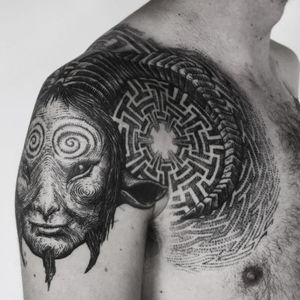 Tattoo by Punctum tattoo studio