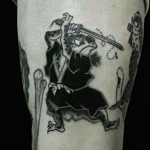 Done by our resident artist Benny tattooer
