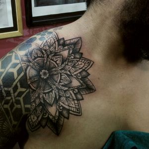 Un mandala!!! If you are in Oaxaca, came and take some ink!!!
