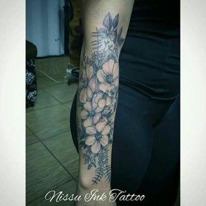 #tattoofloral#tattooflores