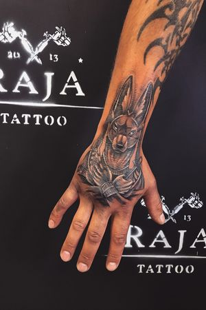 Egypt meaning tattoo on hand 👉🏽