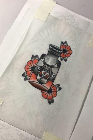 #poisonbottle #tattoosketch