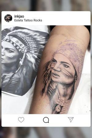 #tattoo #realista #tattoorealism #ink #inkjao #pretoecinza #rj