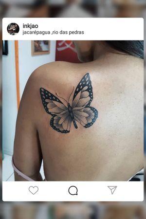 #tattoo #borboleta #ink #buterflytattoo #inkjao #rj