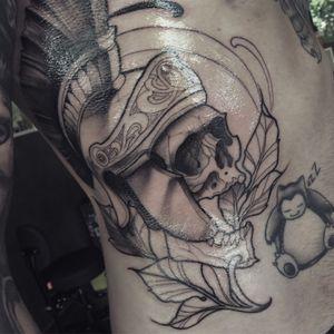 Spartan warrior skull first session