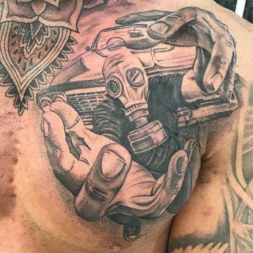 By @jasonktatts at #Free Spirit Tattoo Manly in #Sydney #Australiatattoo