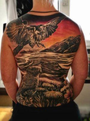 NZ themed backpiece by Scotty C