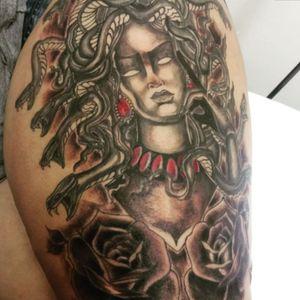 #medusa #medusatattoo #workbrasil #tattoosp