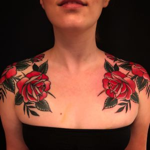 For bookings email: monteztattoos@gmail.com #rose