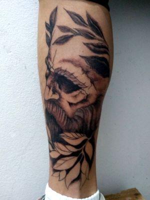 #blackandgrey, #Black, #Godfather, #tattooart, #brazil, #rs,