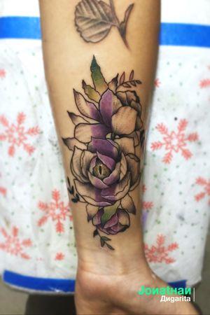 Reptile flower.