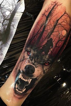 🐺 Ninja Wolf Forest • what do you think about it? I'll enjoy doing other works like that • thanks Riccardo for trust • sponsored by @yayofamilia and @diamondtattoosupplies ************************************************** #wolftattoo #wolfforesttattoo #realisticwolftattoo #realistictattoo #crimsontideink #ctilondon #tattooinlondon #realisticart #ink #tattoos #inked #art #tattooed #tattooartist  #tattooart #artist #realistictattoos #drawing #inkedup #tattoolife #style #like4like #design #bodyart #tattoo #tattooculture #black #tat #sketch