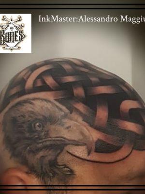 Eagle and Celtik Knots