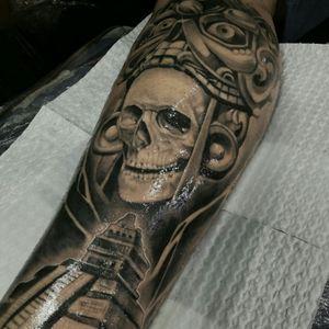 Azteca skull