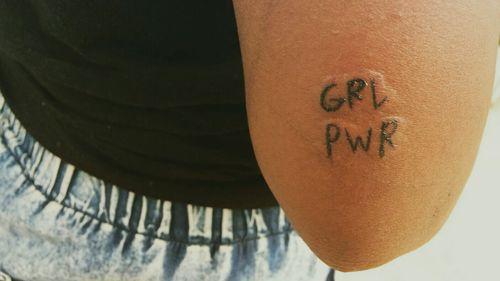 girl power #girlpower #tattooart  #girlpowertattoo #TattooGirl  #grlpwr #tatuadorbrasileiro