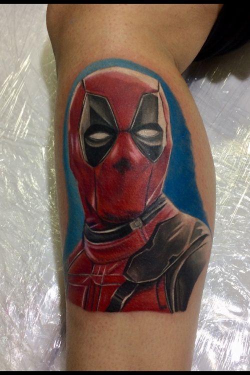 #Deadpool #comics #tattoocomics  #comicsRealista #comicstattoo