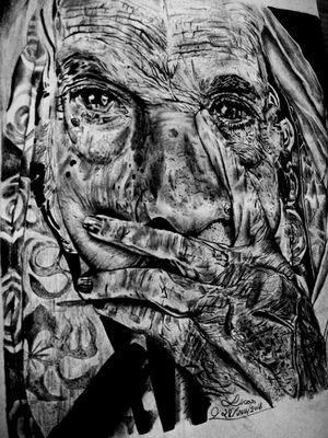 #retroprojetor #rembrandt  #softtype #designgrafico#artist#instaart #realismo #grafite