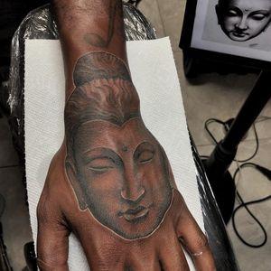 #Buddha #darkskintattoo