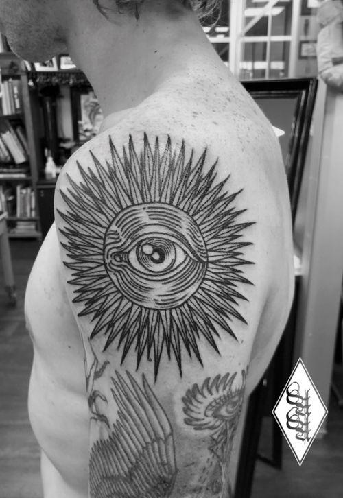 #sun #eye