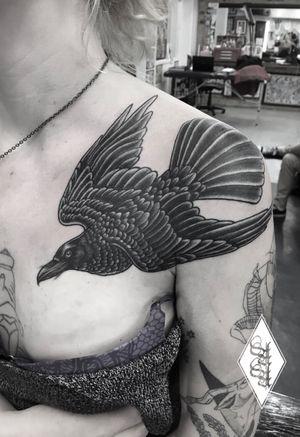 #raven #raventattoo