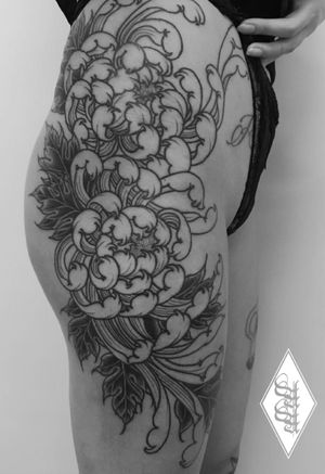 #chrysanthemum #chrysanthemumtattoo