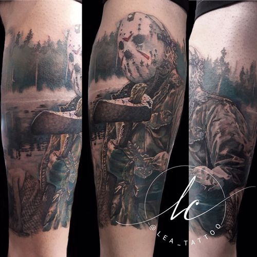 #JasonVoorhees #FridayThe13th #movie #fan #fanart #realism #realistic #realistictattoo #color #colorful #colorrealism