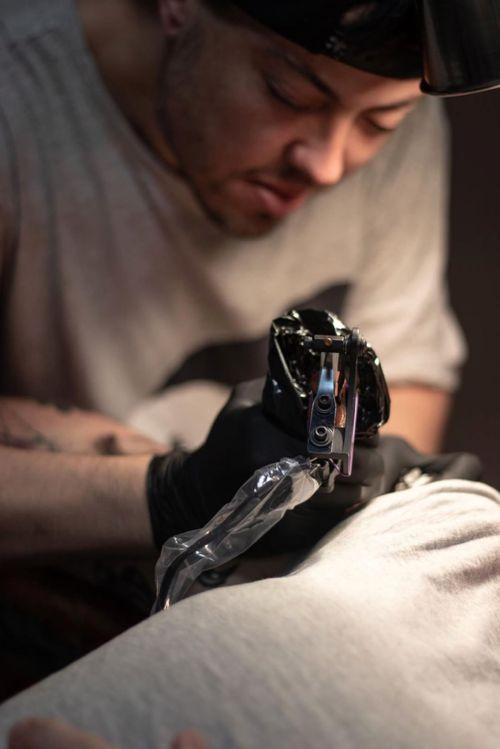 Kevin Hennessey nsw Australia                                            #tattooartist #tattooart #skinartmag #blackwork #neotraditional #ink #inked #bold #dotwork #dotworktattoo