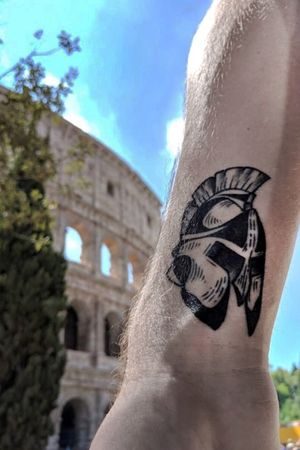 Worldly Travels #roman #greece #blackandgrey #kevinhennesseytattoo