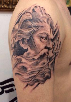 Poseidon #Poseidon #poseidontattoo #tattooart #tattoo #tatuagem