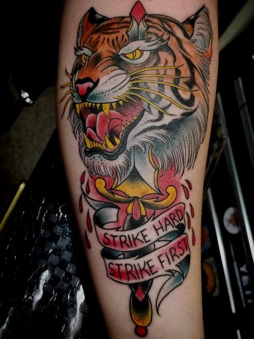 @tattoodemonco @electricflamingotattoo #thesolidink #tattoos #tattoolife #tattoo #coloradosprings #coloradospringstattoo #coopercitytattoo #coopercity #weston #westontattoo #daviefl #davietattoos #tatuajes #pembrokepines #pembrokepinestattoos #hollywood #hollywoodtattoos #tiger #tigertattoo