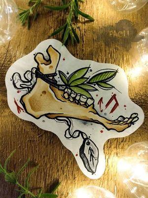 #skull #animalskull #design #concept #neotraditionaltattoos  #tattoos #freakyskin #occult #halloween #animal