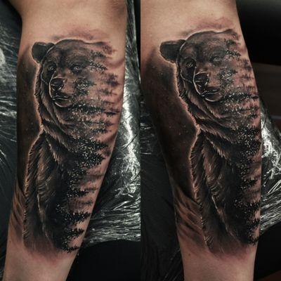 #dktattoos #dagmara #kokocinska #coventry #coventrytattoo #coventrytattooartist #coventrytattoostudio #emeraldink #emeraldinkltd #emeraldinkcoventry #bear #beartattoo #bearandforest #bearandforesttattoo #foresttattoo #tattoo #tattoos #tattooideas #tatt #tattooist #tattooshop #tattooedman #tattooforman #killerbee #immortalinnovations