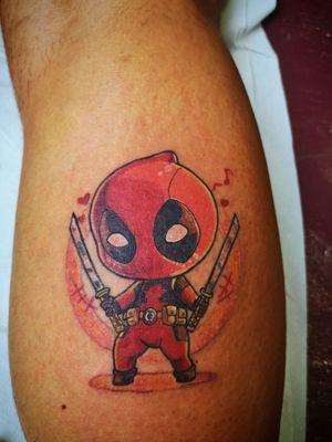 #deadpool #marvel #MarvelTattoo