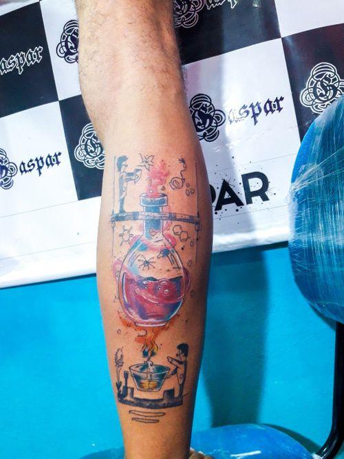 #ink #color  #colortattoo  #colorful  #tatuagem  #tatuagemcolorida  #colorida