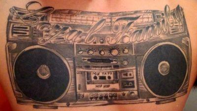 #Ghettoblaster #Hiphop #Loyalfamily #Music #blackandgrey #oldschool