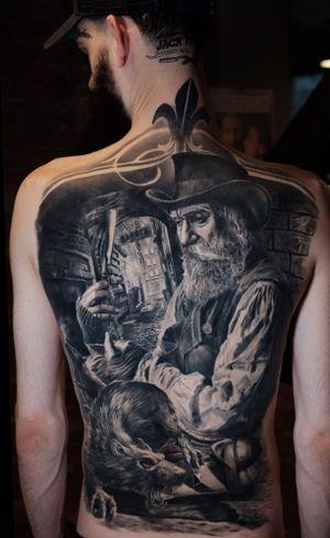Nikolay Dzhangirov #dntattoo #blackouttattoocollective #tattoopharma #tattoomarket #inkedmag #tattooistartmagazine #colortattoo #tattoo #russia