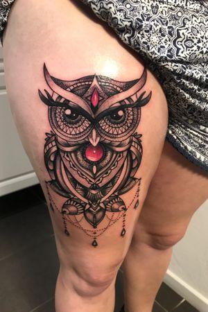 Owl mandala own design
