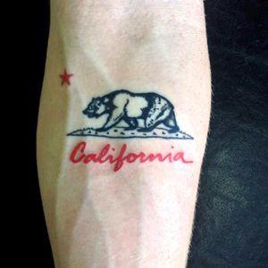 West coast ✌🏾 #tbt #california #CaliforniaTattoos #westcoast