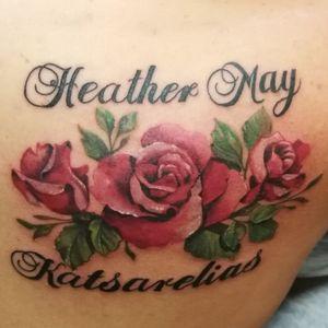 #flowertattoo #rose #cheyennehawkpen #starbritecolors #starbriteink