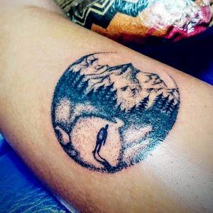 Dot work ¿What do you think about it? #dotworktattoo #zuperblack #tattootodo #intenzeink #tatuadorescolombianos