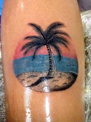 Palma tattoo #intenzeink #tattooart #tattootodo #seatattoo #dotworktattoo