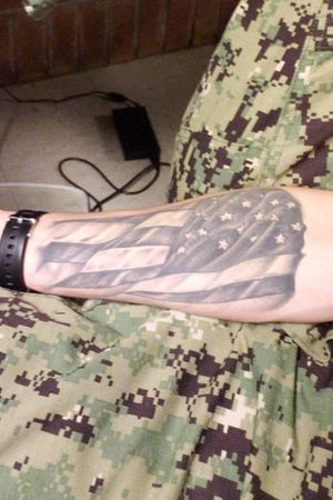A flag I picked up and will never put down. Live by and die by Semper Fortis.