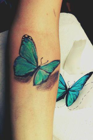 #schmetterling #frau #arm #artist #Sommer #farben #mint #blau #artist #dreamtattoo #mindblowing#mone1971#tattoo #follow #followforfollow #artist #dreamtattoo #mindblowing#mone1971