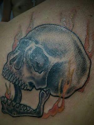 #caveiratattoo #caveira #skulltattoo #skull